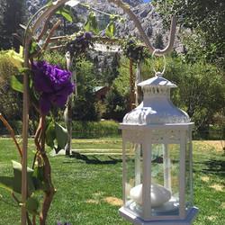 Prince would be proud #purplerain #summerwedding #doubleeagle #mountainbride #junelake #purpleweddin