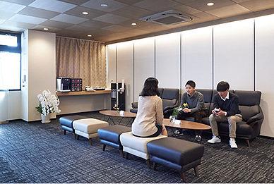施設紹介_オープンラウンジ_想送庵カノン