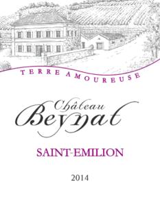 Cuvée Terre Amoureuse du Château Beynat 2018