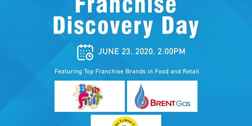 Free Franchise Webinar with BareFruit, Brent Gas LPG Center and The Lemon Co