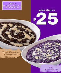 Food - Kiosk Franchise Philippines, Moms Ube Champorado Franchise Fee and Investment, Moms Ube Champorado Franchise business