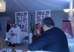 Встреча с Халедом Аль Фалехом
