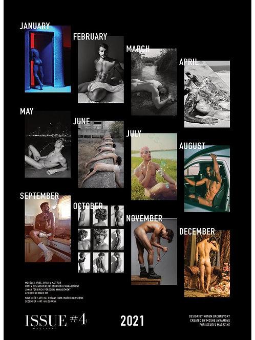 ISSUE#4 Calendar + ISSUE#4 Magazine (2021 Q1 Editorial)