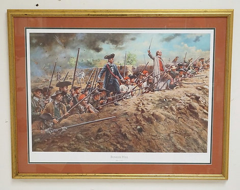 DON TROIANI *BUNKER HILL* CIVIL WAR SCENE PRINT. PENCIL SIGNED AND NUMBERED 40/1