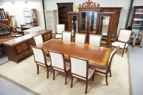 1151 Incredible 13 Piece Dining Room Set Including A Large