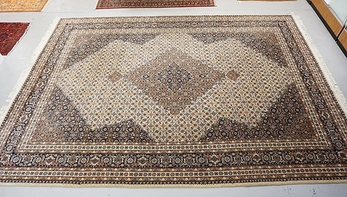 HAND WOVEN ROOM SIZE TABRIZ ORIENTAL RUG MEASURING 15 FT 8 INCHES X 11 FT 2 INCH