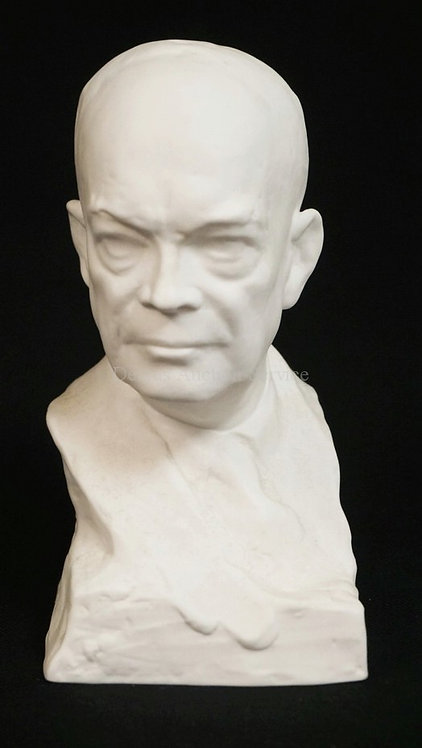 1020_SPODE PORCELAIN FIGURE OF THE *GENERAL OF THE ARMY, DWIGHT D. EISENHOWER*.