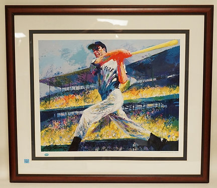 LEROY NEIMAN *THE DIMAGGIO CUT*. SIGNED LIMITED EDITION PRINT OF JOE DIMAGGIO. H