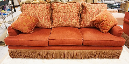 EXCURSIONS BY LANEVENTURE UPHOLSTERED SOFA MEASURING 96 INCHES LONG.