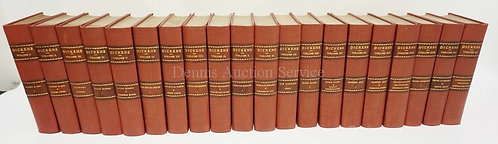 20 VOLUMES OF DICKENS WORKS. DELUXE EDITION.