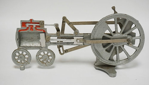 STANSI SCIENTIFIC COMPANY STEAM ENGINE CUTAWAY MEASURING 14 1/2 INCHES LONG.