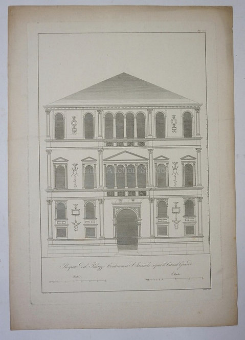 ETCHING FROM THE 1858 SERIES *EDIFICES ET MONUMENTS REMARQUABLES DE VENICE*. 16