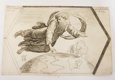 ORAZIO BORGIANI AFTER RAPHAEL *THE CREATION OF HEAVEN AND EARTH*. PLATE 2 FROM A