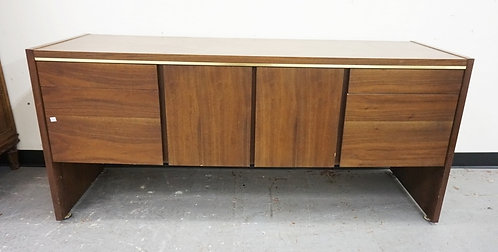 MID CENTURY MODERN SIDEBOARD BY *MYRTLE*. 66 INCHES LONG.