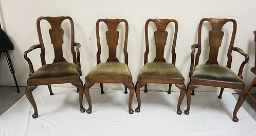SET OF 4 *OLD COLONY* DINING CHAIRS BY *BEACON HILL*