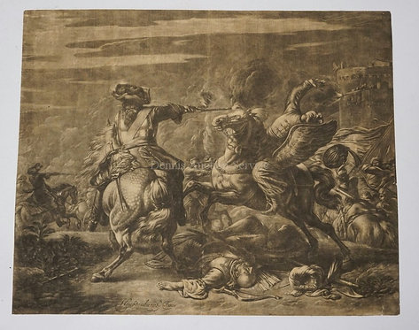 JAN VAN HUCHTENBERGH, (HAARLEM 1647-1733 AMSTERDAM) TURKISH SOLDIER KILLED IN BA