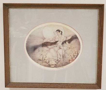 LOUIS ICART PRINT. EDITION #78/250. SIGNATURE PRINTED IN THE PLATE. 18 1/4 X 15