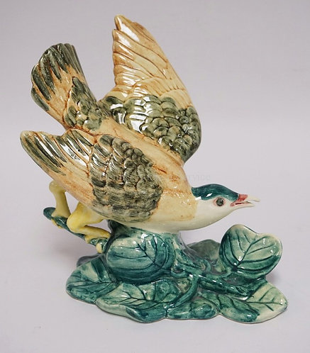 STANGL ART POTTERY *KEY WEST QUAIL DOVE*. #5454. 9 1/2 INCHES HIGH.
