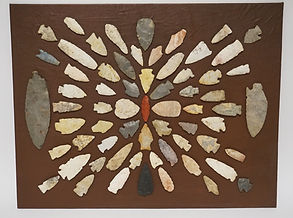 Native American Indian Arrowheads in our Estate Sales in New Jersey