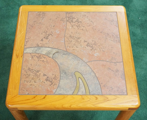 Haslev Danish Modern End Table