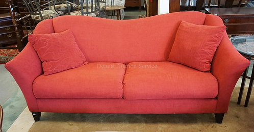 KLAUSSNER SOFA IN RED