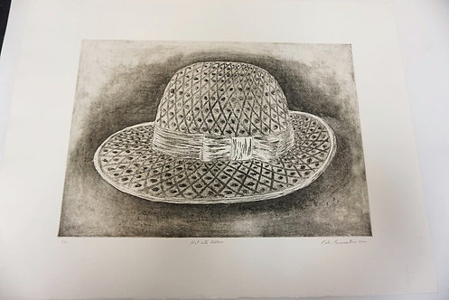 PETER PASSUNTINO PRINT TITLED HAT WITH RIBBON. NO. 5 OF 50. DATED 2001. IMAGE 21