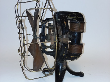 Attic Find! Early Thomas Edison Electric Fan ca.1898