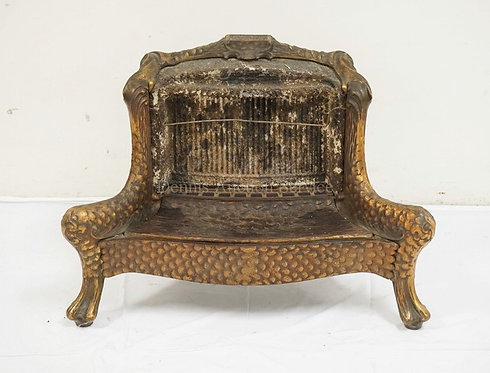 *HUMPHREY RADIANT FIRE* ANTIQUE GAS HEATER. 29 1/2 INCHES WIDE. 21 1/2 INCHES HI