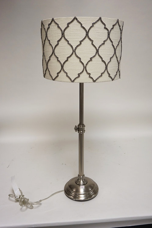 CONTEMPORARY TABLE LAMP. ADJUSTABLE HEIGHT.