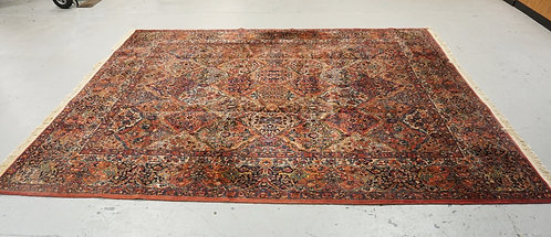 ROOM SIZE KARISTAN ORIENTAL RUG MEASURING 10 FT 8 X 8 FT 6 INCHES.