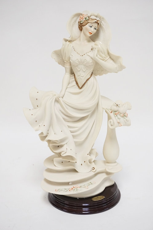 GIUSEPPE ARMANI *BRIDE OF BALUSTRE*. HAS BOX AND CERT. 14 INCHES HIGH.