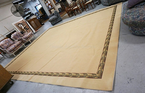 LARGE ROOM SIZE RUG MEASURING 14 FT X 16 FT.