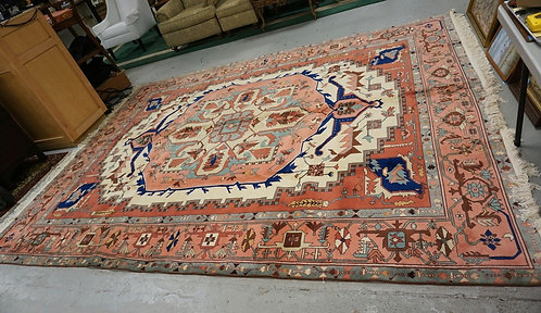 ROOM SIZE ORIENTAL RUG MEASURING 9 FT 1 INCH X 12 FT.