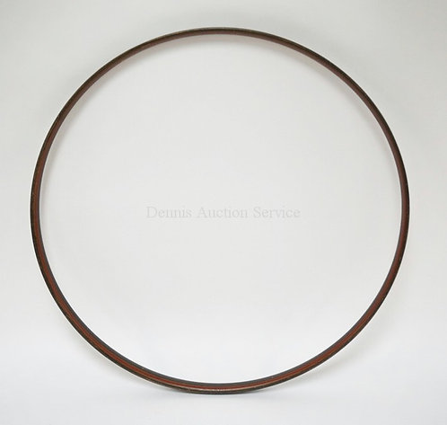 TOY WOODEN HOOP WITH ORIGINAL PAINT. 24 1/4 IN DIA