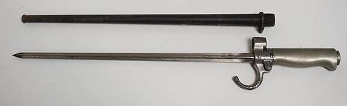 1113_GERMAN BAYONET. 17 7/8 INCHES LONG.