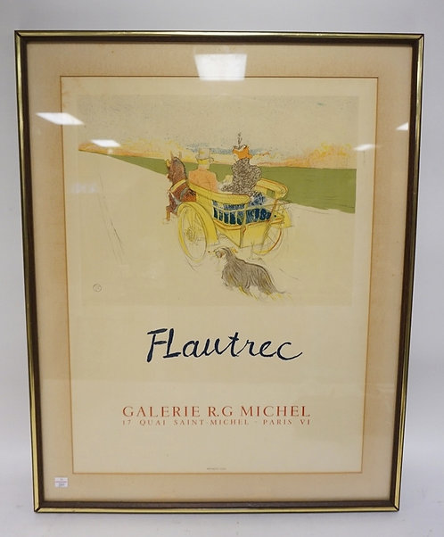 LAUTREC POSTER, PARIS. 18 IN X 24 IN