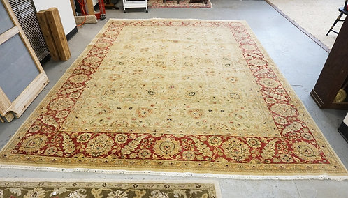 ROOM SIZE ORIENTAL RUG. 12 FT X 8 FT 10 IN