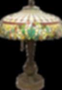 Antique Leaded Glass Lamp at Dennis Estate Sale Auctions