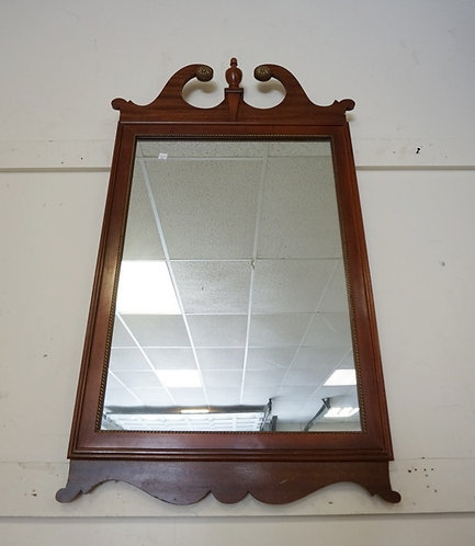 CHIPENDALE STYLE MIRROR. 25 IN X 43 1/2 IN OVERALL