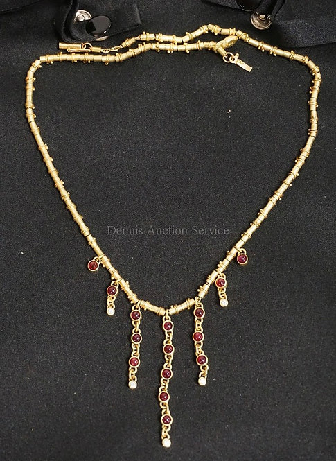 STEPHANI BRIGGS *SIGNATURE CHAIN* NECKLACE. EACH CHAIN IS MADE BY HAND AND IS UN