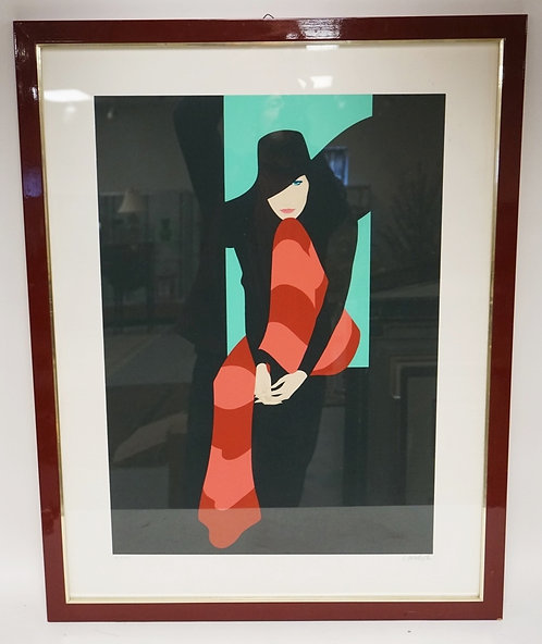 AMLETO DALLA COSTA LIMITED EDITION PRINT TITLED *COUTROLUEE*. ARTISTS PROOF #3/2