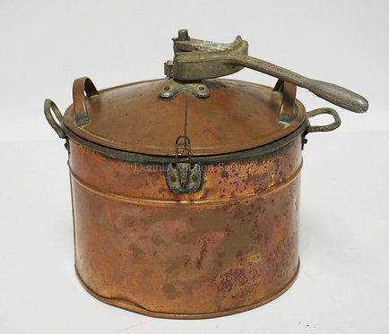 SALESMAN'S SAMPLE COPPER *PARAMOUNT STEAM WASHER* PATENTED 1925. 8 1/2 INCHES HI