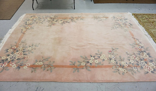 ROOM SIZE CHINESE RUG MEASURING 11 FT 5 INCHES X 8 FT 3 INCHES.
