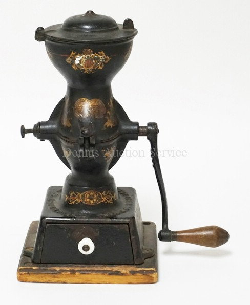ENTERPRISE COFFEE GRINDER. ORIG LITHO. 12 3/4 IN H