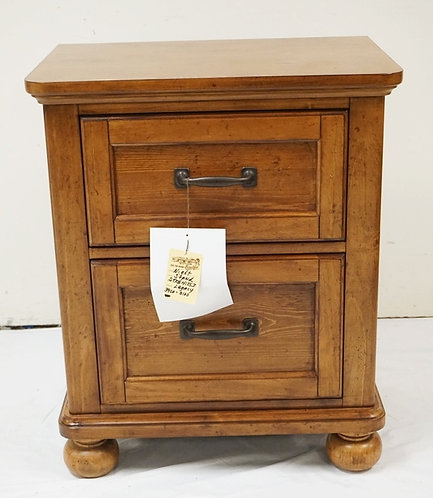 LEGACY CLASSIC KIDS 2 DRAWER NIGHTSTAND. 23 IN WIDE