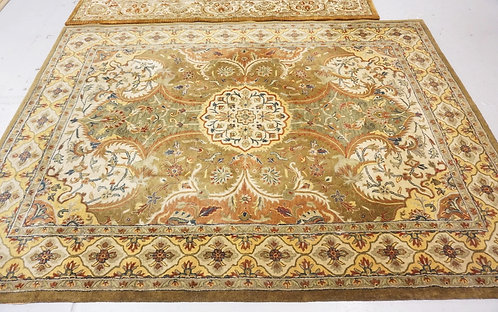 ROOM SIZE ORIENTAL RUG MEASURING 8X11 FEET.