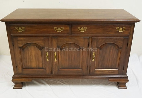 PENNSYLVANIA HOUSE CHERRY SIDEBOARD WITH 2 DRAWERS OVER 3 ARCH PANELED DOORS AND