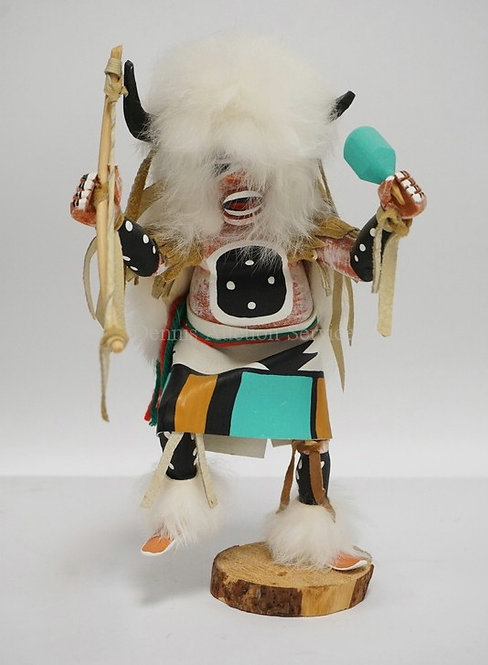 VINTAGE KACHINA DOLL MEASURING 11 INCHES HIGH.