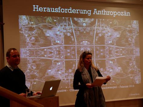 """Workshop """"Die Anthropozän/Menschenzeit-Idee im Mölltal"""""""