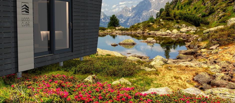 WOOD CUBE - Energieautarkes Wohnen im Alpine Nature Campus